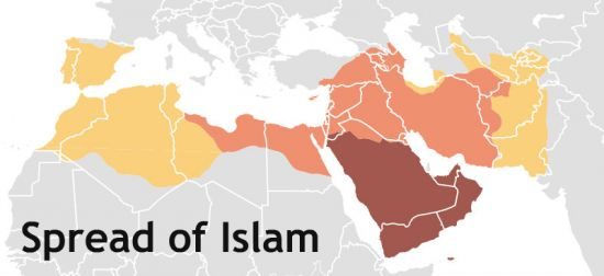 an introduction to the history of islam spread World history: understands the spread of islam in southwest asia pbs video islam: empire of faith background through the introduction of the.